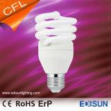 El ahorro de energía a la mitad de la luz en espiral E27 Las lámparas CFL
