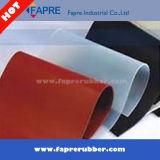 Strato trasparente della gomma di silicone/strato di gomma industriale in rullo