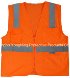 反射Clothing、Reflective Jacket、Safety Wear、High Visibility TapeのReflective Vest