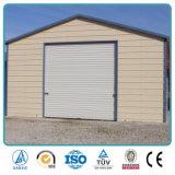 Garage d'acciaio portatile prefabbricato durevole galvanizzato del tubo di prezzi bassi