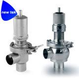 Válvula de seguridad compatible de la presión del tri trébol SS304
