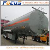 3 ESSIEUX 45000L véhicule spécial de l'huile du réservoir de carburant Camion Citerne pour la vente de remorque