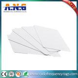 Cartão em branco do PVC NFC para a gerência da identificação