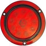 """LED 4"""" 둥근 정지 회전 테일 빛 Tl043"""