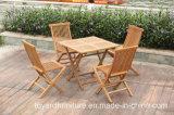 Лучший выбор для использования вне помещений садовая мебель из тикового дерева патио складной стол и стулья