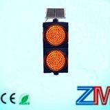Indicatore luminoso d'avvertimento infiammante alimentato solare di colore giallo della lampada/LED istantaneo di traffico di disegno speciale
