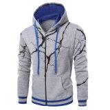 상표 Mens Hoodies 겨울 남자의 운동복 스웨터를 인쇄하는 남자 카디건 Hoodie 3D