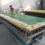 Máquina bloqueando da placa da fibra de vidro do mini engranzamento