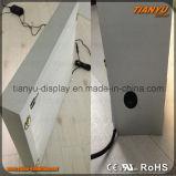 Scatola chiara materiale del fronte LED del tessuto di Fluidedge