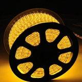 Indicatore luminoso della corda dell'indicatore luminoso di striscia di tensione 220V LED
