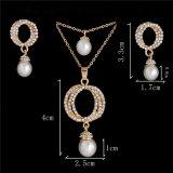 Reeks van de Juwelen van het Zirkoon van de Zon van de bloem de Echte Zilveren