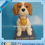 Собака Polyresin Bobble головной Figurine для домашнего украшения (HOGAO008)