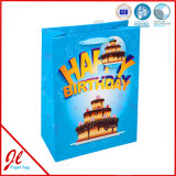 Paper Flag Color Fancy Gift Bolsas de compras para aniversário