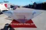 China escaparate olográfico de la visualización 360 2.o 3D del grado (HD360-TP)