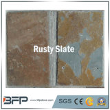 Les tuiles en ardoise naturelle pour façade Rusty, revêtement de mur extérieur de toit