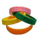Wristband più poco costoso del silicone di alta qualità con il proprio marchio (XD-SI-014)