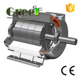 5kw 150rpm 3 Phase Wechselstrom langsam/U-/Minsynchroner Dauermagnetgenerator, Wind/Wasser/hydroenergie