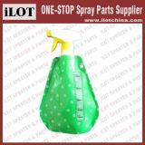 Botella de plástico pulverizador de gatillo plegable para el hogar y jardín