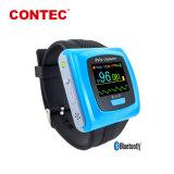 Contec CMS50FW Colordisplay Dedo Pulsioxímetro con Bluetooth y el software de conectar con el PC y Smart Phone