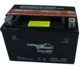 Ytx9-BS 12V9ah Dry Charged Maintenance Batterie de moto gratuite