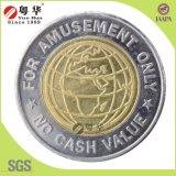 Vente en gros Custom Market 2 Color Brass Token Coin