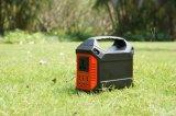 Carregador solar portátil do mini gerador do sistema solar para o acampamento ao ar livre