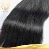 まっすぐのブラジルのRemy 1音色100%の人間の毛髪の織り方