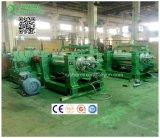 18 pouces de la CE d'homologation de double d'arbres en caoutchouc de mélange deux roulis de machine ouverte de moulin de moulin/