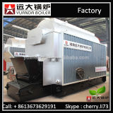 5 tonnes industrielle 6 tonnes 8 tonnes chaudière à vapeur multi allumée par biomasse d'essence de charbon de 10 tonnes