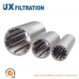 Tubo della scanalatura dell'acciaio inossidabile per il trattamento delle acque