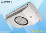 PIR 운동 측정기 태양 LED 정원 램프를 자동 느끼는 5개의 색깔