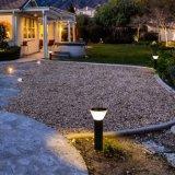 최신 판매 방수 온난한 백색과 백색 옥외 정원 태양 잔디밭 빛