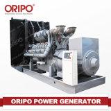 190kw generatore diesel silenzioso/aperto di Oripo con il motore del motore di Shangchai