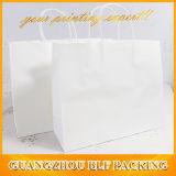 Weißer Braunes Packpapier Cmyk Farben-Drucken-Zoll gedruckter Packpapier-Beutel (BLF-PB345)