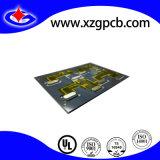PWB da placa de circuito da espessura da placa de 0.3mm com Adhensives de alta temperatura