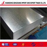 Ganvanized laminadas a frio de chapas de aço fabricado na fábrica de Shandong