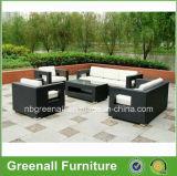 現代屋外の総合的な藤の家具