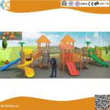 Parc d'attractions populaires de la diapositive en bois enfants Aire de jeux de plein air