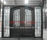 La fabbrica comercia portello all'ingrosso contemporaneo ornamentale di obbligazione del portello di entrata del ferro il doppio