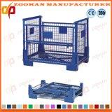 Промышленная Stackable стальная клетка ячеистой сети контейнера крена хранения (Zhra31)