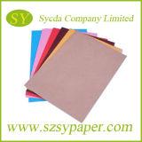 Le fournisseur chinois fournissent le papier de Woodfree de couleur de qualité