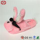 Deslizador de vidro fresco do luxuoso do projeto novo cor-de-rosa engraçado da forma do coelho