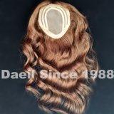 女性の毛の上の部分