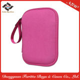 普及したピンクのハンドルのネオプレンHDD袋の袋の袖(NHL009)