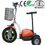 Складывая самокат 3 колес электрический с ценой по прейскуранту завода-изготовителя