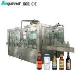 Macchina di rifornimento di coperchiamento gassosa liquido automatico della rondella della birra della bottiglia di vetro dell'acqua della bevanda
