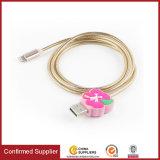 Dados USB Alimentação estilo de banda desenhada de Metal de alta velocidade do cabo de carregamento para telefone