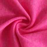 Teinture de fils de mode Singlejersey 100%textiles tricotés en polyester Tissus pour vêtements de sport/Gymwear/T-Shirt