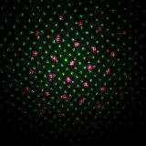 Wasserdichtes IP65 rotes und grünes Galaxie-Eichen-Zylinder-Form-Laserlicht