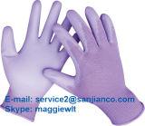 Перчатки полиэфира PU Coated Nylon